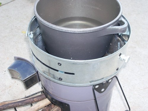 does wood burning stove add value to house